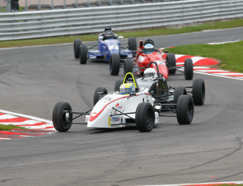 Bittersweet result for Seb Melrose at the FF1600 Festival